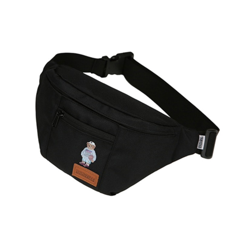 1992 BEAR WAIST bag black